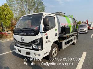 5 ton Catering kitchen garbage truck