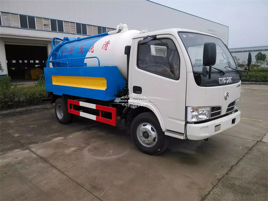 5 ton Cleaning sewage suction truck
