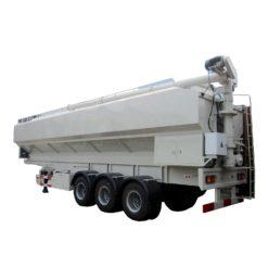 50000liter to 60000liters bulk animal feed trailer