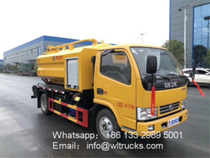 5000L sewer cleaning truck