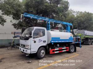 5m3 Railway dust suppression truck