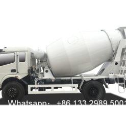 6 cubic meters concrete mixer truck