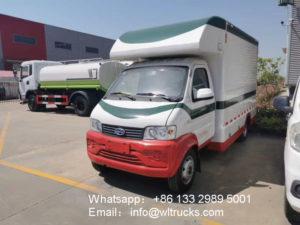 6 wheel Karry mobile fast food car