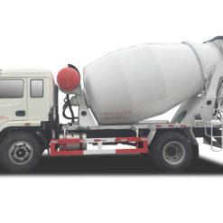 6cbm concrete mixer truck