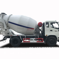6m3 concrete mixer truck