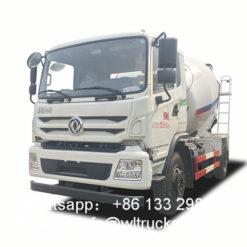 6m3 mixer truck