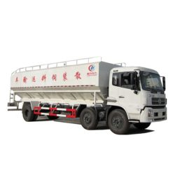 6x2 Dongfeng 30cbm poultry bulk feed truck