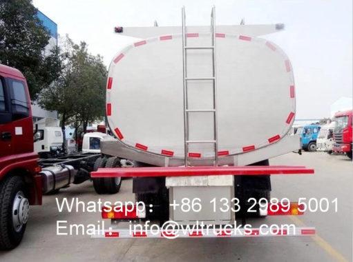 6x2 FAW Milk Tanker Truck