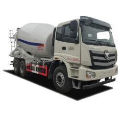 6x4 Foton Auman 14m3 Cement Transport Truck