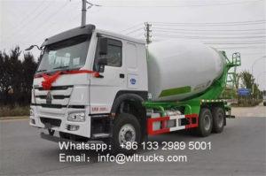 6x4 Howo 14m3 Concrete mixer truck