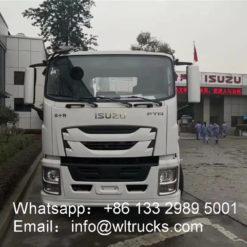 6x4 ISUZU mixer truck