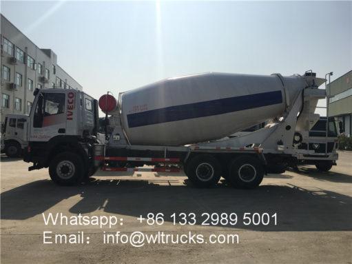 6x4 IVECO mixer truck