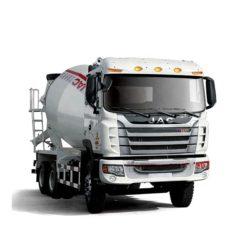 6x4 JAC 10m3 12m3 concrete mixer truck