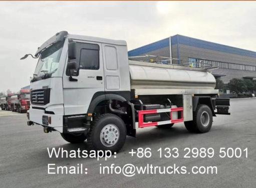 8 ton Milk Transport Truck