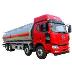 8x4 FAW 25000 liter to 30000liters milk Cooking oil transport tanker truck