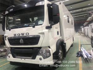 8x4 Sinotruk Howo big food truck