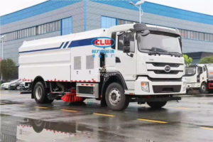 BYD electric washing road sweeper