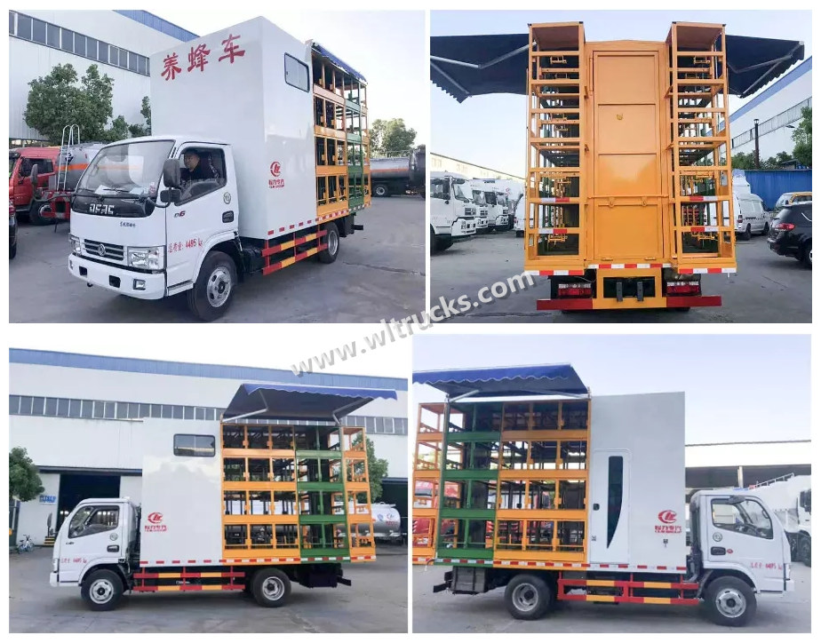 Beekeeping trucks Multi-angle picture
