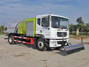 Chengli Electric road cleaning truck