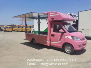 Chery gasoline bbq food truck