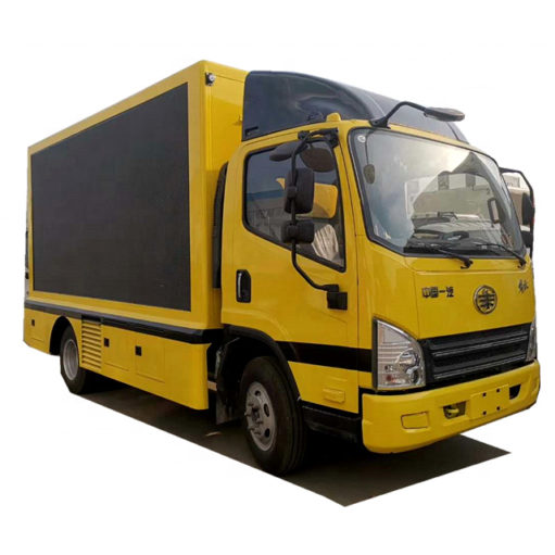 China FAW outdoor led video truck