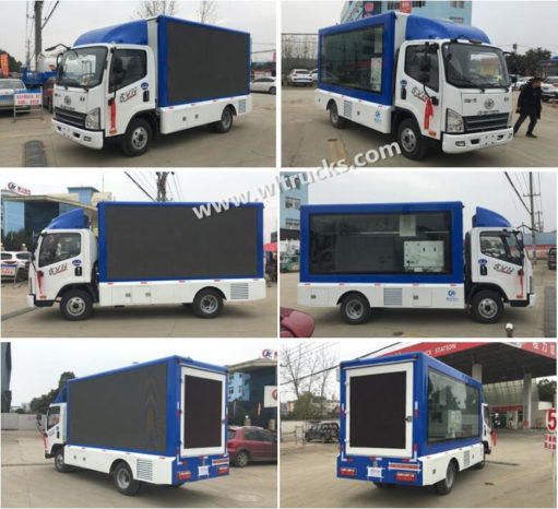 China outdoor led truck