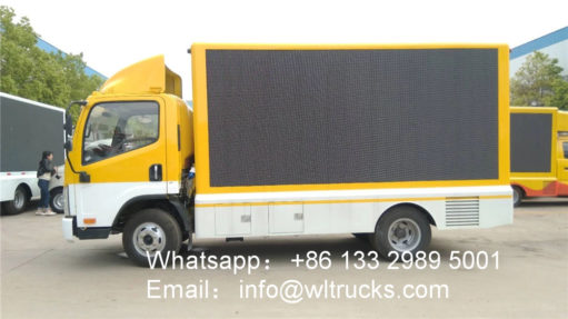 China outdoor led video truck