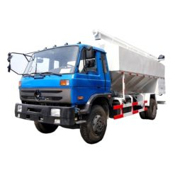 Dongfeng 10 ton to 12 ton bulk feed discharge truck