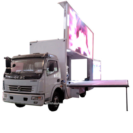 Dongfeng 10m2 led advertising light truck