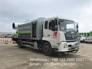 Dongfeng 12m3 disinfection spray truck