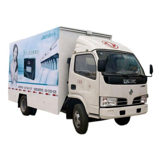 Dongfeng 18-36 square meters mobile stage truck