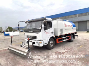 Dongfeng 6000liters High pressure cleaning truck