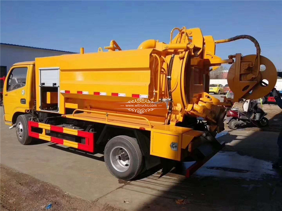 Dongfeng Cleaning sewage suction truck