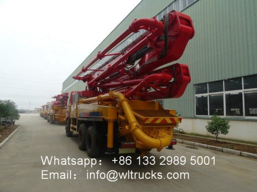 Dongfeng cement pump truck