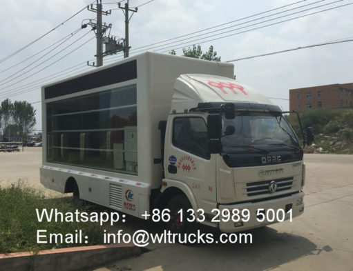 Dongfeng led light truck
