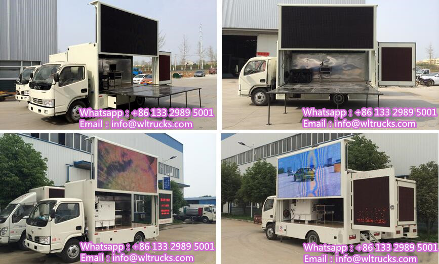 Dongfeng led video truck