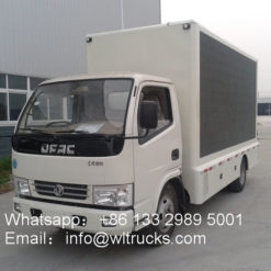 Dongfeng led video wall trucks