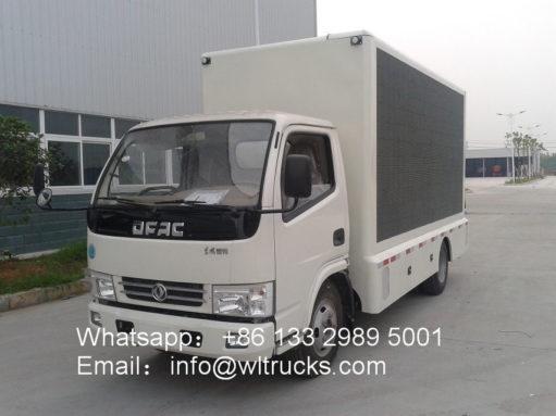 Dongfeng led video wall trucks