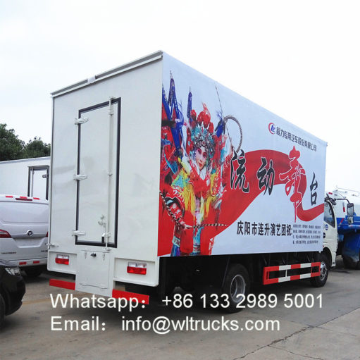 Dongfeng mobile stage truck