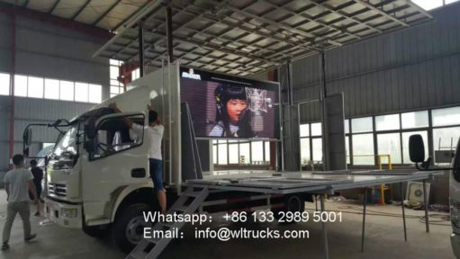 Dongfeng stage truck