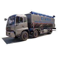 Dongfeng tianjin 22m3 bulk cattle feed transport truck