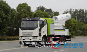 FAW 10000L disinfection truck