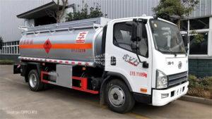 FAW 8 ton oil tanker truck