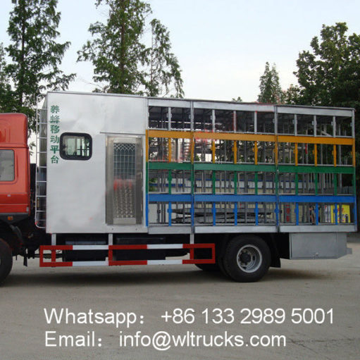 FAW 80 Boxes Beekeeping truck