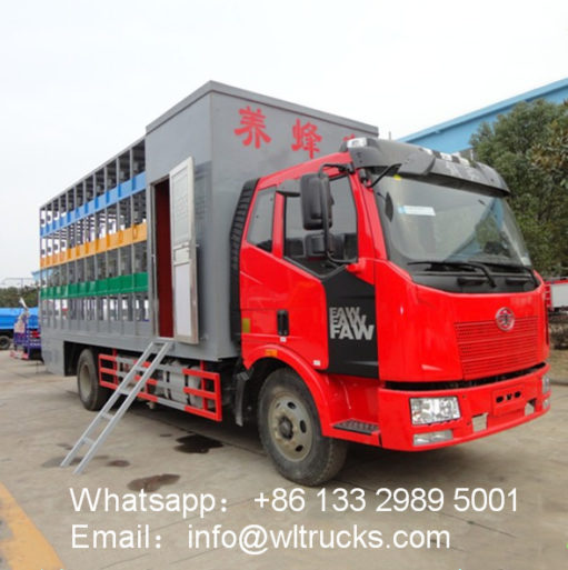 FAW 96 Boxes Beekeeping truck