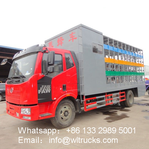 FAW 80 to 96 Boxes Beekeeping truck