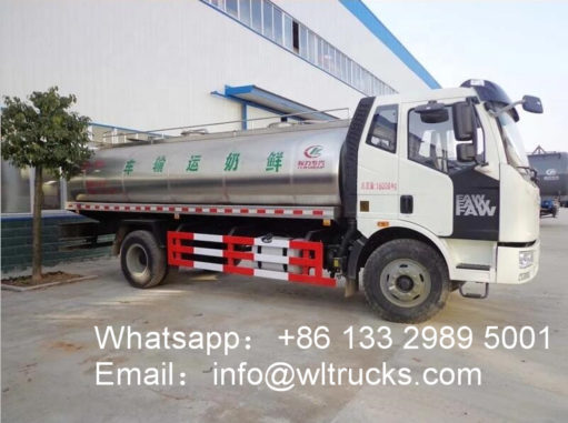 FAW Milk Tank Truck