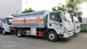 FAW fuel tanker truck
