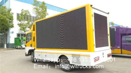FAW outdoor led video truck