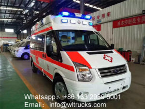 Ford Long Wheelbase High Roof Intensive Care Negative Pressure Ambulance